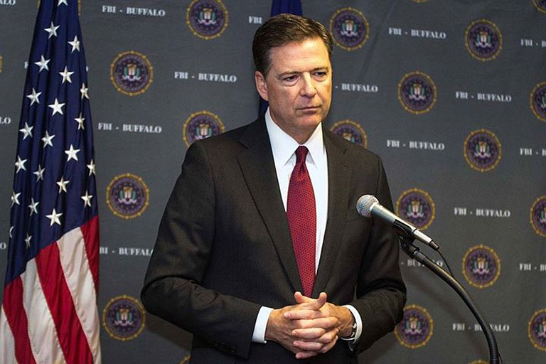 "President Donald Trump, in a warning to his fired FBI director, said Friday that James Comey had better hope there are no ""tapes"" of their conversations. Trump's tweet came the morning after he asserted Comey had told him three times that he wasn't under FBI investigation. Photo courtesy Flickr/Rich Girard"