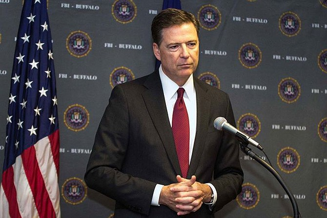 As President Donald Trump considers a replacement for fired FBI Director James Comey (pictured), lawmakers are urging the president to steer clear of appointing any politicians. Photo courtesy Flickr/Rich Girard
