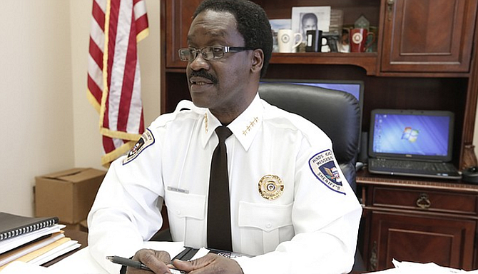 Hinds County Sheriff Victor Mason is criticizing the rumors around Kingston Frazier's death, and addressing the timeline problem that he might have created soon after the abduction. File photo by Imani Khayyam