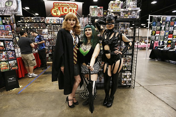 The annual Mississippi Comic Con features a cosplay competition.