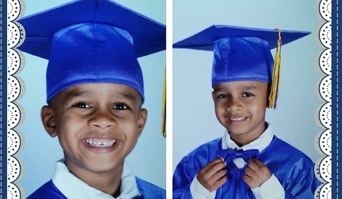 Little Kingston Frazier died the day he was supposed to graduate from kindergarten. But his death brought an entire community together, at least for a week. Photo courtesy Kingston Frazier Family