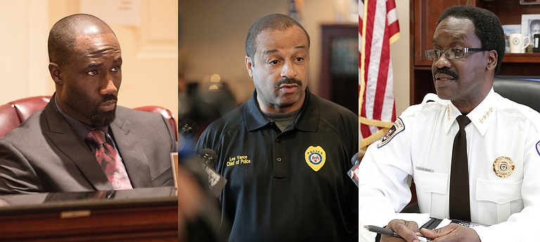 Mayor Tony Yarber, Hinds County Sheriff Victor Mason and Jackson Police Department Chief Lee Vance face lawsuits ranging from sexual harassment to sexual discrimination from former and current women employees.