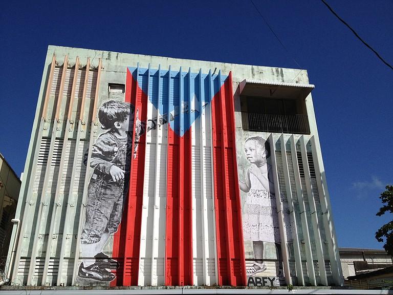 Street art in Puerto Rico Photo courtesy Flickr/Juan Cristobal Zulueta