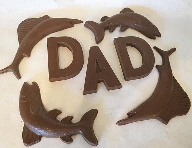 Celebrate dads with local businesses such as Nandy's Candy. Photo courtesy Nandy's Candy