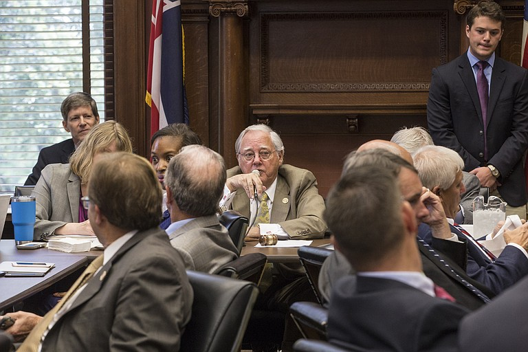 Rep. John Read, R-Gautier, the House Appropriations Committee chairman, told the House that he believes the state's economy will take a positive turn, and deep tax cuts and breaks will pay off in a few years.