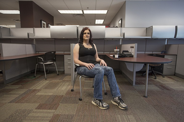 Kara Stanford is a transgender Iraq War veteran who is majoring in social work at Mississippi State University. It is easier to go without health care most of the time because accessing it is so difficult, Stanford says.