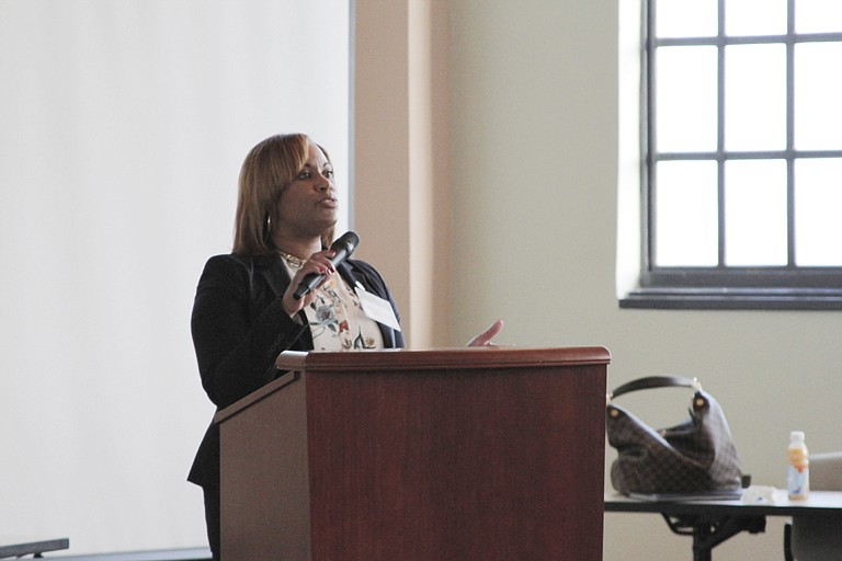 "The Mississippi Department of Corrections, led by Pelicia Hall (pictured), hosted the first graduation for Hinds County inmates from the ""Thinking for a Change"" program."