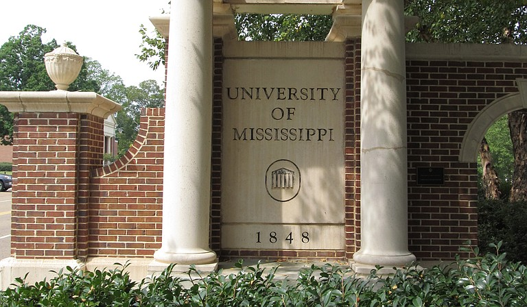 The University of Mississippi will post a sign acknowledging that slaves built some structures on the main campus founded before the Civil War. Photo courtesy Flickr/Ken Lund