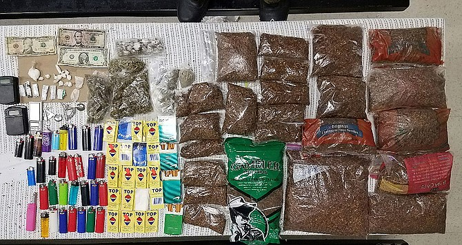 The Mississippi Department of Corrections found and confiscated the most illegal contraband—more than 100 phones—so far this year at Alcorn County Regional Facility this week. Photo courtesy MDOC