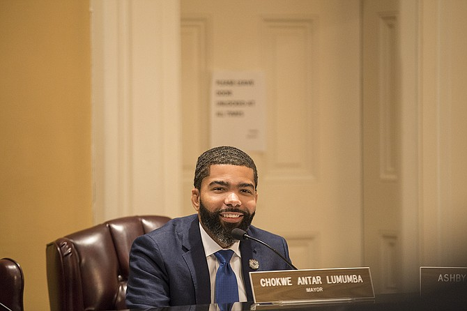 Mayor Chokwe Lumumba has vowed to go vegan for a month to shine light on Jackson's health issues.