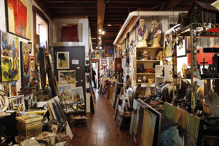The Attic Gallery is a good place to go when you're in Vicksburg.