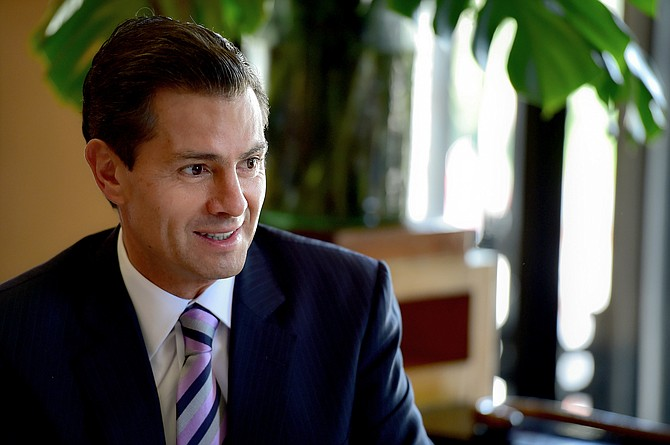 White House press secretary Sarah Sanders on Wednesday found herself explaining that compliments Trump had described receiving in phone calls from Mexican President Enrique Pena Nieto (pictured) and the Boy Scouts did happen—just not on the phone. Photo courtesy Flickr/Presidencia de la Republica Mexicana
