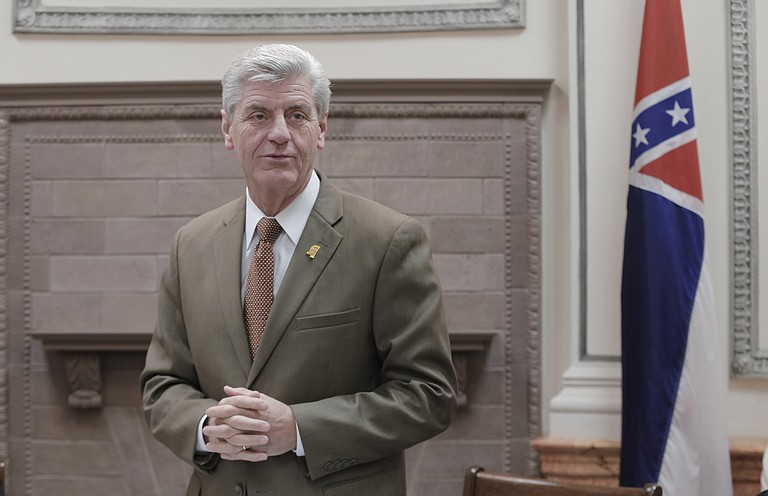 Gov. Phil Bryant (pictured), University of Mississippi Chancellor Jeffrey Vitter and others gathered Friday to dedicate the five-story, $74 million structure at the University of Mississippi Medical Center in Jackson.