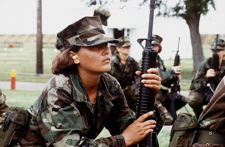 The U.S. Marine Corps for the first time is eyeing a plan to let women attend what has been male-only combat training in Southern California, as officials work to quash recurring problems with sexism and other bad behavior among Marines, according to Marine Corps officials. Photo courtesy Flickr/Expert Infantry
