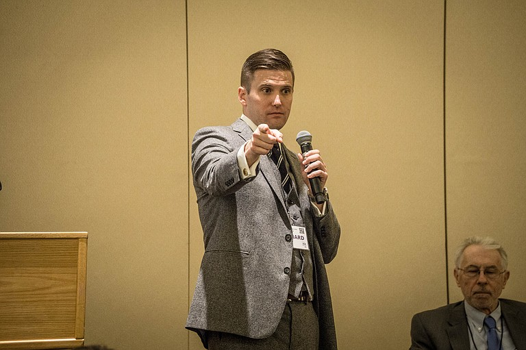 The University of Florida said white provocateur Richard Spencer, whose appearances sometimes stoke unrest, is seeking permission to speak there next month. Photo courtesy Flickr/V@s