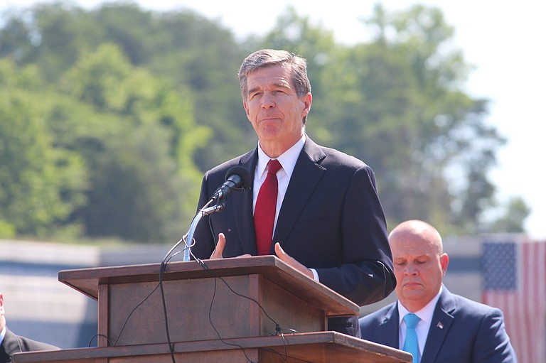 """In response to the statue in Durham being torn down, Democratic North Carolina Gov. Roy Cooper tweeted: """"The racism and deadly violence in Charlottesville is unacceptable but there is a better way to remove these monuments."""" Photo courtesy Flickr/NCDOTcommunications"""