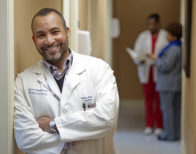 Dr. Leandro Mena, a professor at the University of Mississippi Medical Center, served on a panel that released a standard-of care-report showing that LGBT men need access to quality sexual health care. Photo courtesy University of Mississippi Medical Center