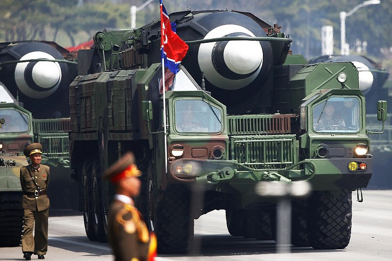 North Korea has conducted launches at an unusually fast pace this year—13 times, Seoul says—and some analysts believe it could have viable long-range nuclear missiles before the end of Trump's first term in early 2021. Photo courtesy Flickr/ermaleksandr