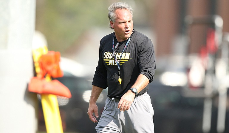 Southern Miss enters its second year under coach Jay Hopson with several experienced playmakers. Photo courtesy USM Athletics