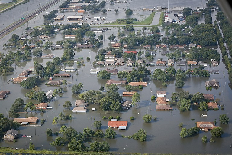 Hurricane Harvey devastated coastal towns in Texas along the Gulf of Mexico as well as flooded several parts of Houston, surrounding towns and parts of Louisiana. Photo courtesy Flickr/South Carolina National Guard