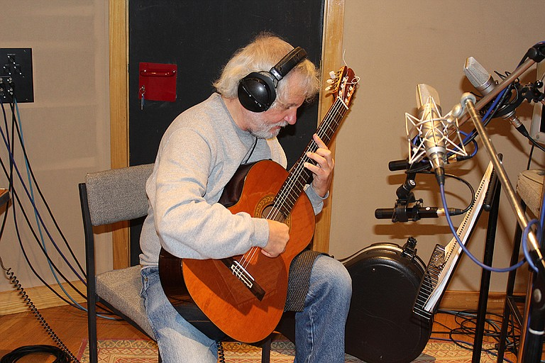 John De Chiaro, a former University of Southern Mississippi guitar professor, performs at the Belhaven University Center for the Arts on Tuesday, Sept. 12. Photo courtesy Giovanni De Chiaro