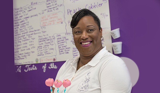 Crystal Kelly opened her Cakes by Crystal storefront in south Jackson in July 2016.