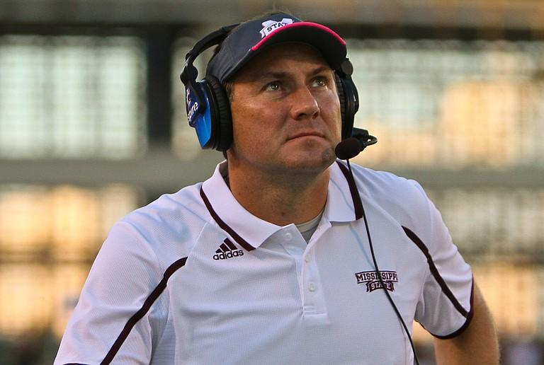 Mississippi State coach Dan Mullen Photo courtesy MSU Athletics