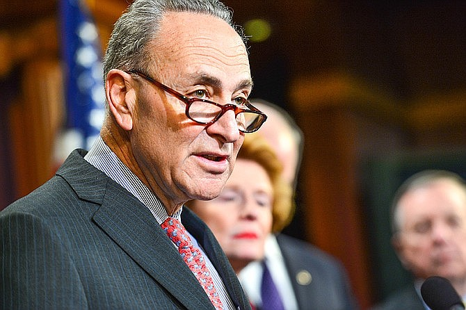 Senator Chuck Schumer and Representative Nancy Pelosi announced they've struck a deal with Donald Trump to protect young immigrants.