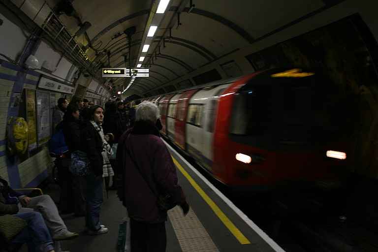 Hundreds of London police embarked on a massive manhunt Friday, racing to find out who placed a homemade bomb on a packed London subway train during the morning rush hour. The explosion wounded 22 people and ignited a panicked stampede to safety. Photo courtesy Flickr/Borja AP