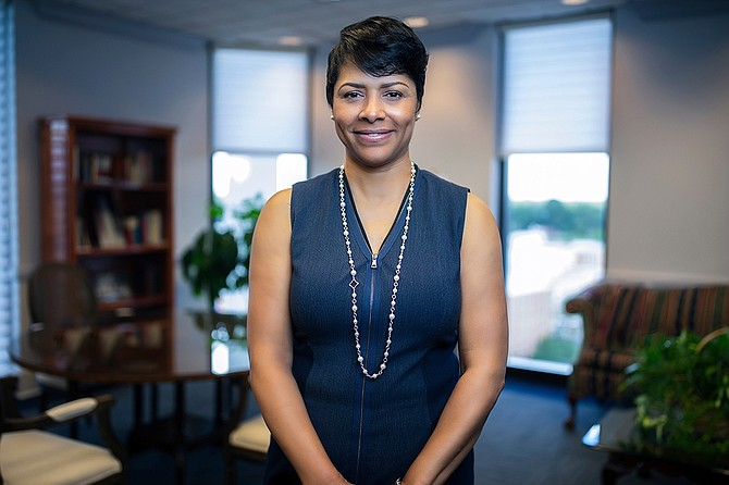 Deborah Bynum, wife of Jackson State University President William Bynum Jr., recently announced a series of programs that she plans to implement to help JSU students. Photo courtesy JSU