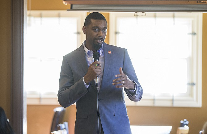 Tyrone Hendrix, the executive director of the Mississippi Association of Educators, called for continued community involvement in the pending takeover of Jackson Public Schools and thanked the governor for taking his time making the decision.