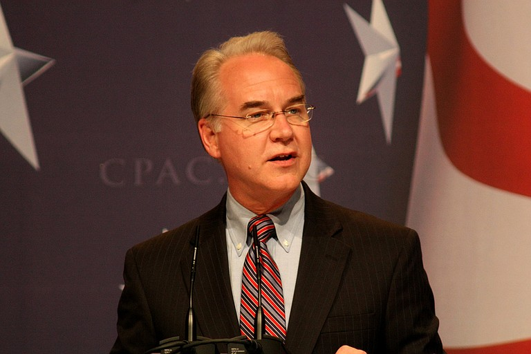 Tom Price became the first member of the president's Cabinet to be pushed out in a turbulent young administration that has seen several high-ranking White House aides ousted. A former GOP congressman from the Atlanta suburbs, Price served less than eight months. Photo courtesy Flickr/Gage Skidmore