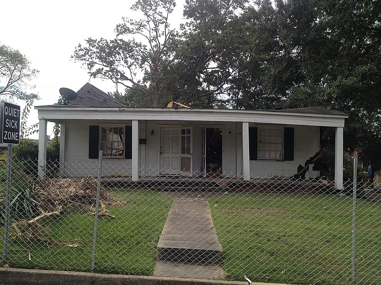 Brian Heffner, a former Fondren resident, says he lived at 521 Fondren Place 29 years ago. He recently witnessed his old duplex being torn down for a new hotel, and immediately worried about asbestos. Photo courtesy Brian Heffner