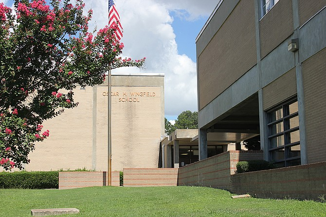 Wingfield High School could get several new renovations including work that helps the school comply with the Americans with Disabilities Act. Photo courtesy Jackson Public Schools