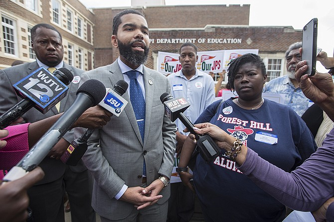 "Mayor Chokwe A. Lumumba called the move to put Jackson Public Schools under a corrective action plan at the same time as an investigative audit ""unprecedented"" last month, when the State Board of Education recommended a takevover of the district."