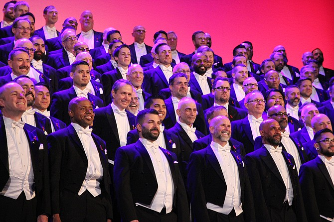 The San Francisco Gay Men's Chorus performs in Jackson on Sunday, Oct. 8. Photo courtesy Joan Bowlen