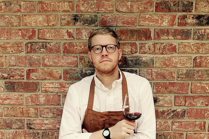 Lou's Full-Serv Chef de Cuisine Hunter Evans wants to learn more about both the cooking side of restaurants and the dining side. Photo courtesy Hunter Evans