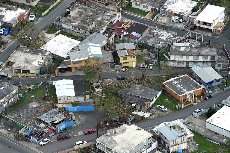The Senate is pushing ahead on a $36.5 billion hurricane relief package that would give Puerto Rico a much-needed infusion of cash. Photo courtesy Flickr/Air Force Magazine