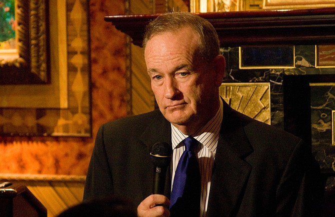 Bill O'Reilly (pictured) and Harvey Weinstein are the celebrity faces of sexual harassment in 2017. But on Fox News Channel, O'Reilly's former home, the Hollywood mogul's fall has gotten far more coverage. Photo courtesy Flickr/Justin Hoch