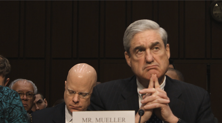 Concerned that the president may fight back after Robert Mueller's (pictured) investigation into Russian meddling led to two indictments and a guilty plea for his former advisers Monday, top Democrats laid down a marker for the president, who earlier in the year criticized Mueller and the probe. Photo courtesy Flickr/Kit Fox/Medill