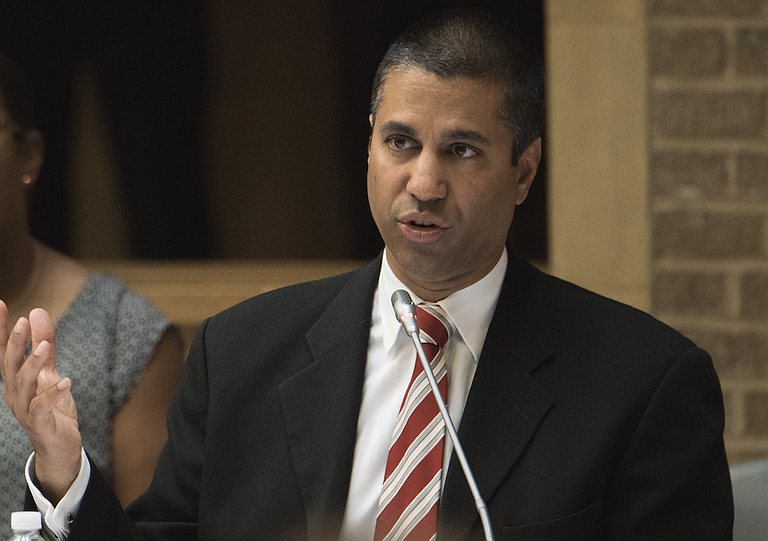 Ajit Pai distributed his alternative plan to other FCC commissioners Tuesday in preparation for a Dec. 14 vote on the proposal. He promised to release his entire proposal Wednesday. Photo courtesy Flickr/Lance Cheung