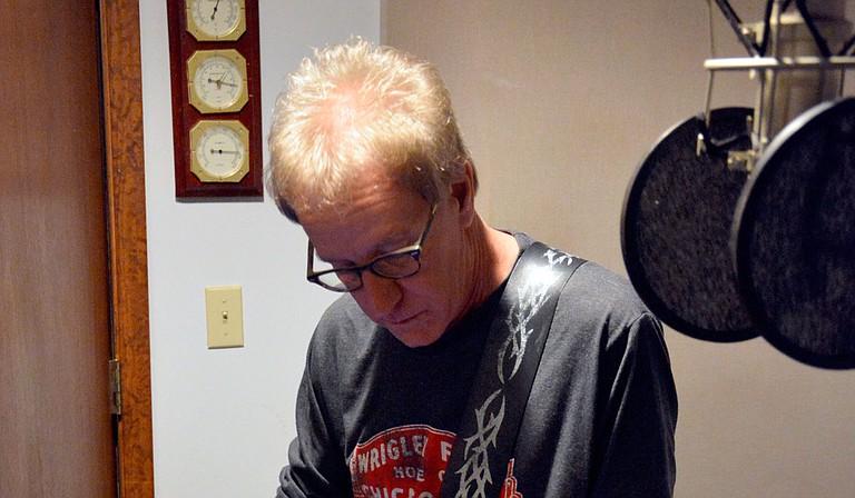"Rock singer-songwriter Larry Brewer releases his fifth album, ""Shine,"" on Dec. 7. Photo courtesy Jim Ethridge"