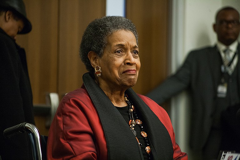 """Myrlie Evers, who saw her husband gunned down outside their Jackson home on June 12, 1963, expressed both anger and the need to follow Medgar's advice to """"rise above your hatred, and turn it into something positive."""""""