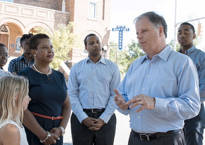 Democrat Doug Jones' (pictured) historic victory over Republican Roy Moore was declared official Thursday as Alabama election officials certified him the winner of the special Senate election, despite Moore's last-minute lawsuit claiming voter fraud. Photo courtesy dougjonesforsenate.com
