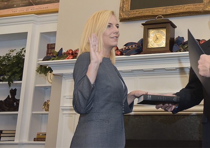 Congress is considering three options, including citizenship or permanent legal status for people who were temporarily shielded from deportation, Secretary Kirstjen Nielsen said in an interview. Photo courtesy Flickr/Ninian Reid