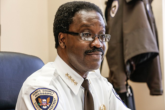 Some city officials including retiring Jackson Police Chief Lee Vance, Hinds County District Attorney Robert Shuler Smith and Hinds County Sheriff Victor Mason (pictured), have pending litigation against them.