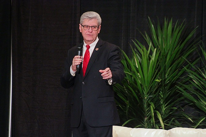 "At Mississippi Economic Council's ""Capital Day,"" Gov. Phil Bryant emphasized the importance of early education and dropout prevention to help get Mississippians ready for the thousands of jobs available in the state."