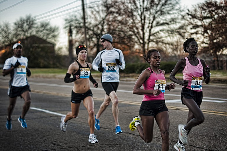 The sound of blues music and sneakers hitting the pavement will fill the streets of Jackson on Saturday, Jan. 27, during the Mississippi Blues Marathon. File Photo
