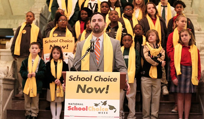 """Grant Callen and his organization Empower Mississippi are arguably the epicenter of """"school choice"""" policy and influence in the Mississippi Legislature, but the web of funders for the movement stretches far beyond state lines."""
