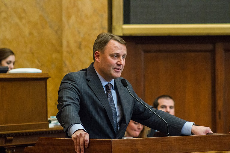 Rep. Jason White, R-West, developed the House Medicaid proposal, which would require the division to re-bid out contracts for the managed-care program. The measure passed out of the House with bipartisan support.
